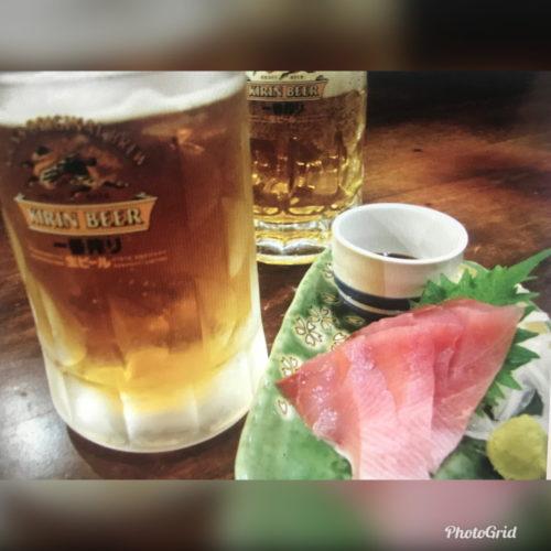 生ビール2杯とおつまみのセット