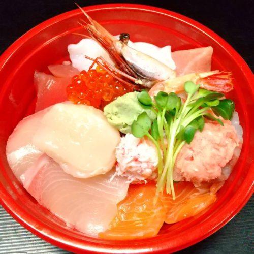 豪華!海鮮丼