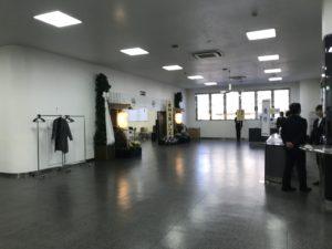 待合ホールと式場ホールがあります。