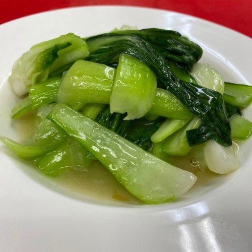 青菜うす塩炒め