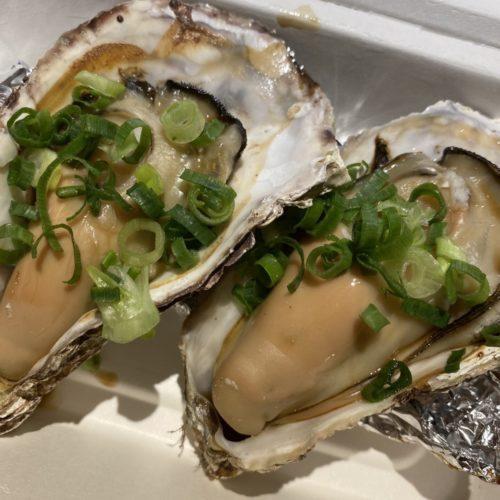 焼き牡蠣(素焼きor浜焼き)