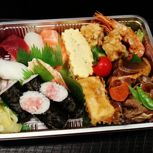 贅沢!寿司弁当
