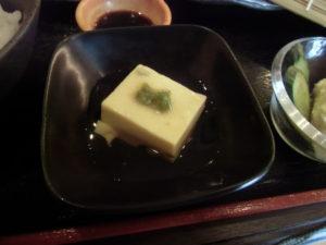 すっぽんの出汁が入った卵豆腐