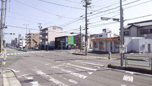 店舗前道路