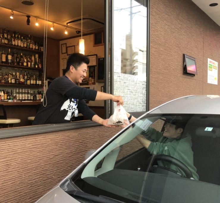 CAFE&BAR POLPO|ドライブスルーサービス